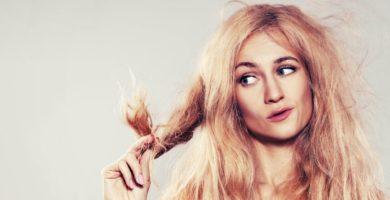 cabellos muy secos