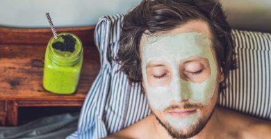 mascarillas caseras para hombres