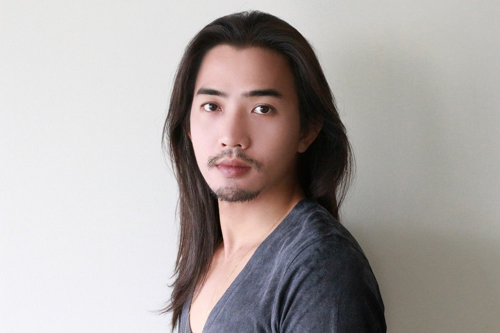 pelo largo en hombres