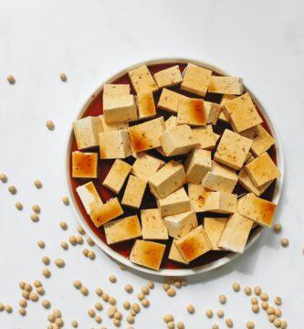 tofu de garbanzos